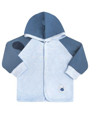 NINI Chlapecký kabátek s podšívkou, světle modrá, vel. 86