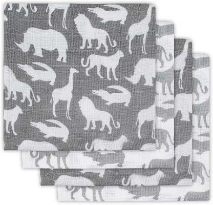 JOLLEIN Plena balení 4 ks – Safari Stone grey