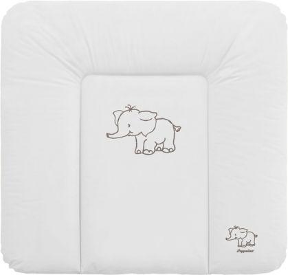 PUPPOLINA Přebalovací podložka měkká slon – bílá