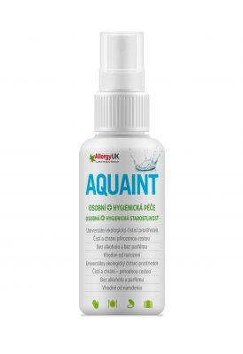 AQUAINT 100% ekologická čisticí voda 50 ml CZ/SK