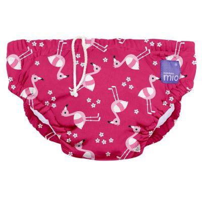 BAMBINO MIO Kojenecké plavky Pink Flamingo L