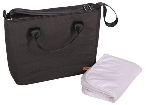 BOMIMI Seba přebalovací taška anthracite melange