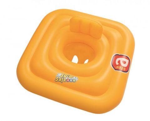 BESTWAY Nafukovací baby sedačka s opěrkou Step A, 76x76 cm