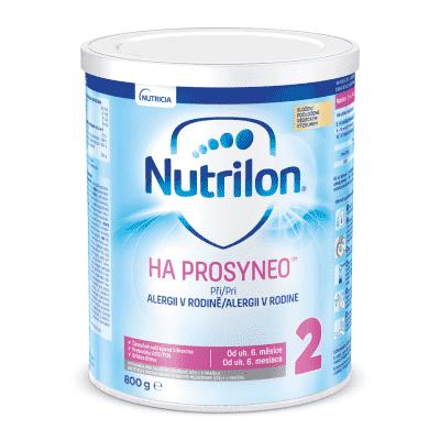 NUTRILON 2 HA Prosyneo (800 g) 6+ - speciální pokračovací kojenecké mléko