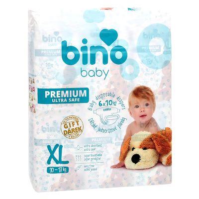 BINO BABY Pleny Premium 6x10 + dárek Juniori /XL