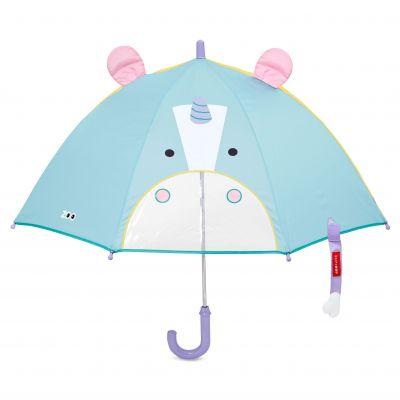SKIP HOP Zoo deštník s okénkem na výhled Jednorožec 3+
