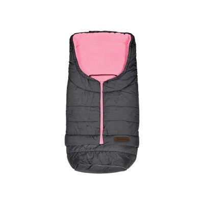 PETITE&MARS Fusak prodloužitelný Sven 3v1 Light Grey- Pink