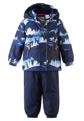 REIMA Detský zimný membránový set Ruis - jeans blue 98