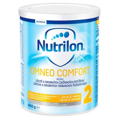 NUTRILON 2 Omneo Comfort (400 g) 6+ speciální pokračovací kojenecké mléko