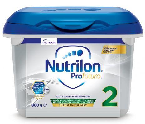 NUTRILON 2 Profutura (800 g) - pokračovací kojenecké mléko od uk. 6. měsíce