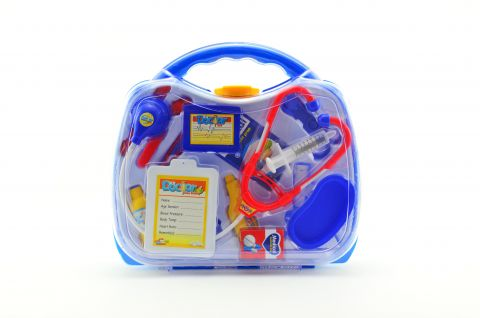 TEDDIES Sada doktor/lékař 16 ks plast v plastovém kufříku