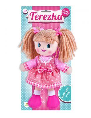 TEDDIES Panenka Terezka hadrová plyš 30 cm česky mluvící