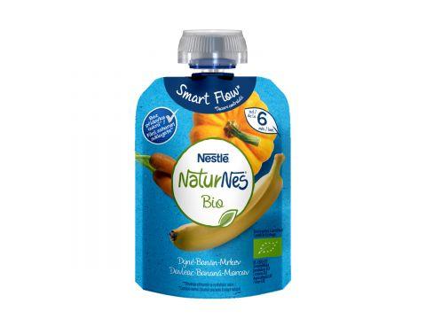 NESTLÉ Naturnes Bio kapsička dýně, banán, mrkev, 90g