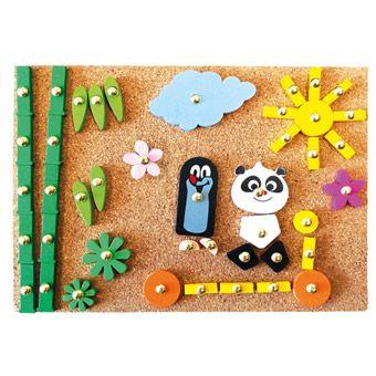BINO Krtek a Panda, hra s kladívkem