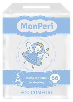 MONPERI ECO Comfort S (3-6 kg) 66 ks – jednorázové pleny