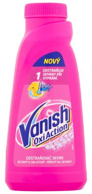 VANISH Oxi Action tekutý odstraňovač skvrn 0,5 l