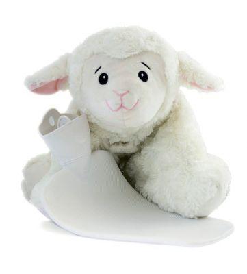 HUGO FROSCH Dětský termofor Classic 3 v 1 s polštářkem – ovečka