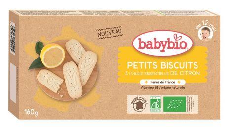 BABYBIO Sušenky s citrónovou příchutí (160 g)