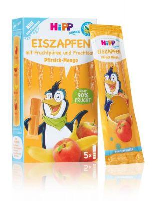 HiPP BIO Rampouch Broskev – Mango, ovocné pyré ke zmražení (5x30 ml) - expirace 27.02.2020