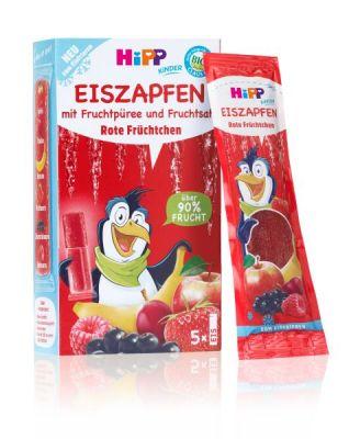 HiPP BIO Rampouch Červené ovoce, ovocné pyré ke zmražení (5x30 ml) - expirace 08.02.2020