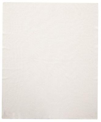 PETITE&MARS Deka pletená bavlněná Harmony Innocence White 80 x 100 cm