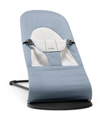 BABYBJÖRN Lehátko Soft Blue/Grey, Cotton/Jersey