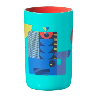 TOMMEE TIPPEE Netekoucí hrnek Easiflow 360° 250 ml 12 m+ modrý