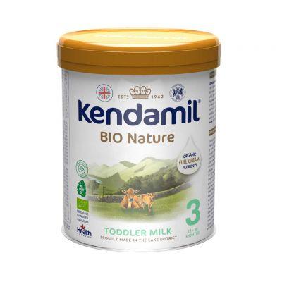 KENDAMIL Batolecí BIO/organické mléko 3 (800 g) DHA+