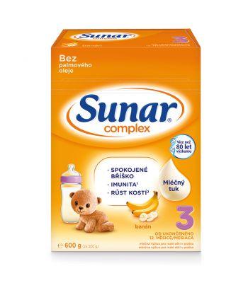 SUNAR Complex 3 banán, 600 g
