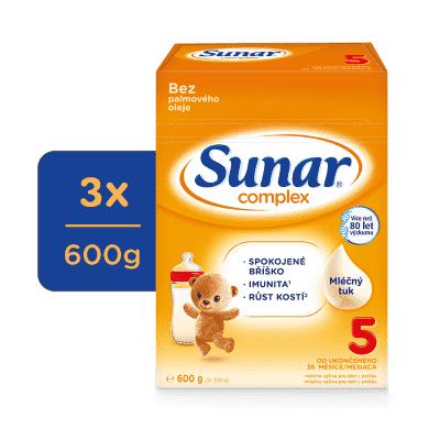 3x SUNAR Complex 5, 600 g