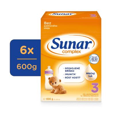 6x SUNAR Complex 3, 600 g