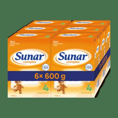 6x SUNAR Complex 4, 600 g