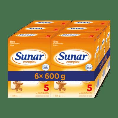 6x SUNAR Complex 5, 600 g