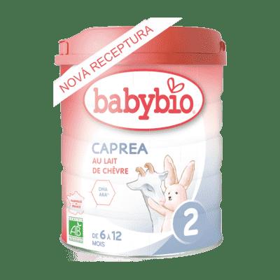 BABYBIO CAPREA 2 plnotučné kozí kojenecké bio mléko 800 g