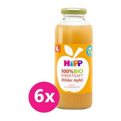 6 x Hipp 100 % Bio Juice Jablečná šťáva