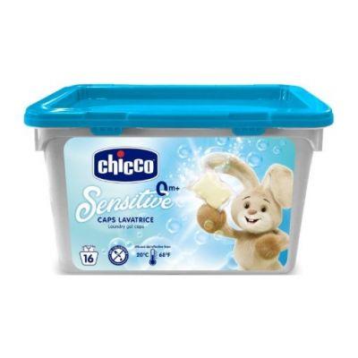 CHICCO Kapsle prací gelové Sensitive 16 ks