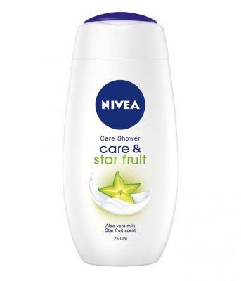 NIVEA Pečující sprchový gel Care & Star Fruit 500 ml