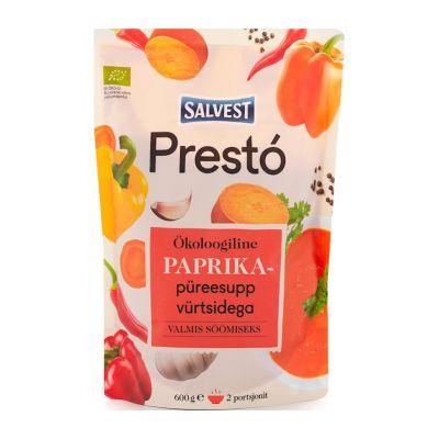 SALVEST Prestó BIO Polévka z čerstvých paprik, bylinek a koření (600 g)