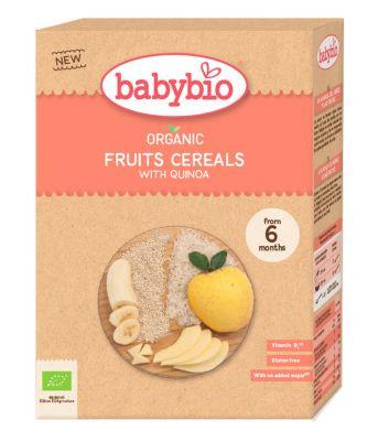 BABYBIO Kaše nemléčná Bio rýžová, quinoa a ovoce 200 g