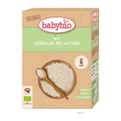 BABYBIO Nemléčná rýžová bio kaše (200 g)