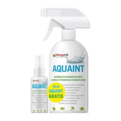 AQUAINT 100% ekologická čisticí voda 500 ml + DÁREK Aquaint 50ml