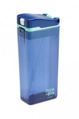 DRINK IN THE BOX Nápojová krabička 335 ml - Modrá