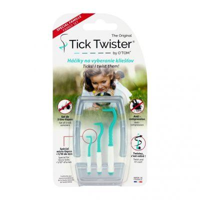 TICK TWISTER Háčky na vybírání klíšťat 3 ks