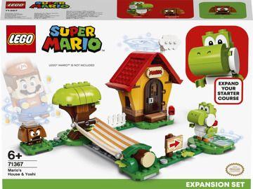 LEGO® Super Mario™ 71367 Mariův dům a Yoshi - rozšiřující set