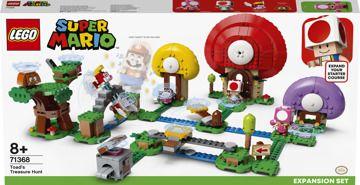 LEGO® Super Mario™ 71368 Toadův lov pokladů - rozšiřující set
