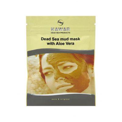 KAWAR Pleťová maska s aloe vera a minerály z Mrtvého moře 75 g