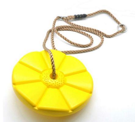 ALLTOYS Disk houpací průměr 28 cm žlutý