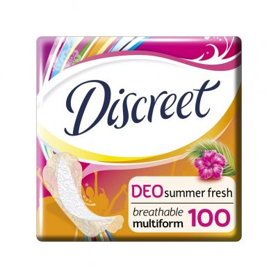 DISCREET Multiform Summer Fresh prodyšné intimky 100 Ks
