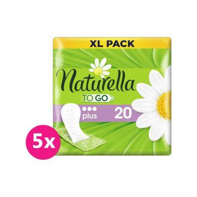 5x NATURELLA Balené Plus To Go intimky 20 ks