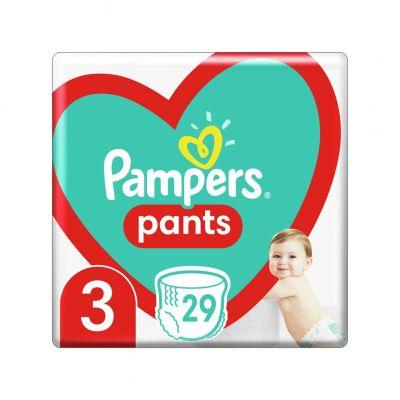 PAMPERS Pants 3 (6-11 kg) 29 ks Carry pack - plenkové kalhotky